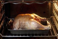 Pollo in forno Fotografia Stock