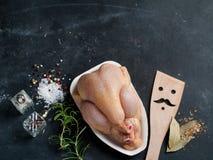 Pollo fresco Fotografia Stock Libera da Diritti
