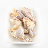 Pollo fresco aislado en el fondo blanco Fotografía de archivo