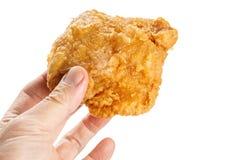 Pollo frito crujiente fotos de archivo libres de regalías