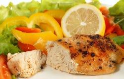Pollo frito de la pimienta del limón imagen de archivo libre de regalías