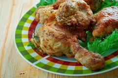 Pollo frito meridional fotografía de archivo libre de regalías