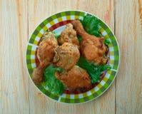 Pollo frito meridional fotos de archivo libres de regalías