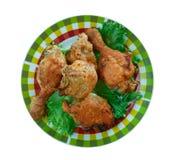 Pollo frito meridional foto de archivo libre de regalías
