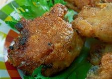 Pollo frito meridional imagen de archivo libre de regalías