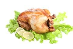 Pollo fritto fotografie stock