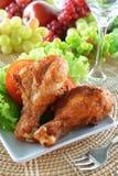 Pollo fritto immagini stock libere da diritti