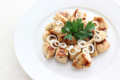 Pollo fritto Fotografia Stock