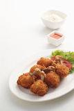 Pollo fritto 2 Immagini Stock