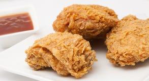 Pollo fritto Immagini Stock
