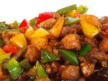 Pollo fritto cinese Fotografia Stock Libera da Diritti