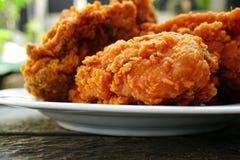 Pollo fritto croccante fotografie stock