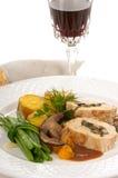 Pollo gastronomico Fotografia Stock Libera da Diritti