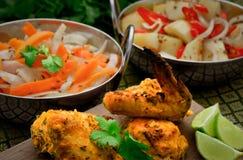 Pollo indiano Fotografie Stock Libere da Diritti