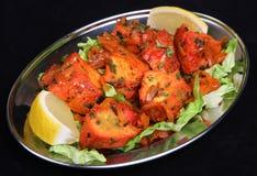 Pollo indiano Tikka Immagini Stock Libere da Diritti