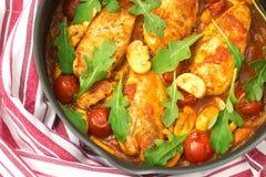 Pollo in italiano Immagini Stock