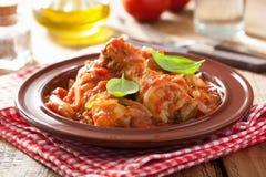 Pollo italiano Cacciatore Immagini Stock
