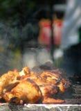 Pollo jamaicano del tirón Imagen de archivo