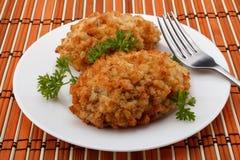 Pollo Kiev Immagini Stock