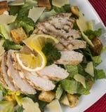 Pollo libero Caesar Salad del glutine Immagine Stock