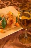 Pollo lustrato kumquat Immagini Stock