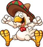 Pollo messicano royalty illustrazione gratis