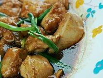 Pollo mongolo Immagine Stock