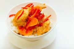 Pollo nell'asiatico Fotografie Stock