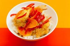 Pollo nell'asiatico Fotografia Stock