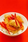 Pollo nell'asiatico Immagine Stock