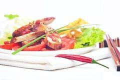 Pollo picante tailandés imagen de archivo