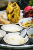 Pollo por Año Nuevo chino Fotografía de archivo libre de regalías