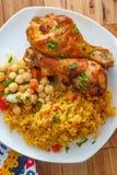 Pollo portugu?s de Piri Piri fotografía de archivo libre de regalías