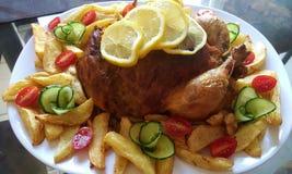 Pollo relleno Imagen de archivo libre de regalías