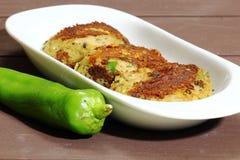 Pollo Shami Kebab fotografia stock