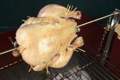 Pollo sul barbecue Fotografia Stock Libera da Diritti