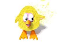 Pollo sveglio illustrazione di stock