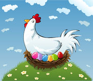 Pollo sveglio Immagine Stock Libera da Diritti