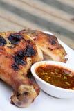Pollo tailandese della griglia fotografie stock libere da diritti