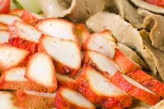 Pollo Tikka & carne di Donner Fotografia Stock Libera da Diritti