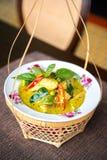 Pollo verde tailandés del curry Imagen de archivo