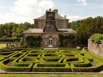 Pollok House. And Gardens, Glasgow. Scotland Royalty Free Stock Photos
