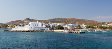 Pollonia village, Milos island, Cyclades, Greece Stock Photo
