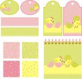 Pollos stock de ilustración