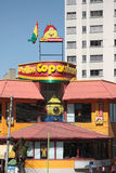 Pollos Copacabana restaurant in La Paz Royalty Free Stock Photography