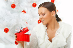 Polluelo de la Navidad imagen de archivo libre de regalías