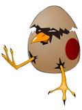 Polluelo del personaje de dibujos animados ilustración del vector