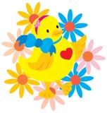 Polluelo feliz Foto de archivo libre de regalías