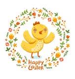 Polluelo feliz de Pascua libre illustration