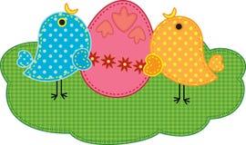 Polluelos de Pascua Imagen de archivo libre de regalías